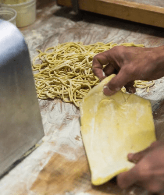 The most celebrated food in NYC = PASTA