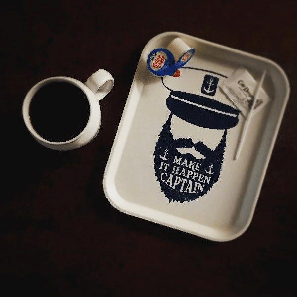 Coffee and Food Tray
